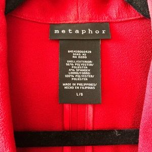Metaphor Jackets & Coats - Beautiful Red Power Blazer